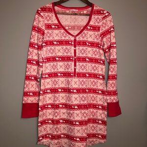 Victoria's Secret Womens Christmas Pajamas Large